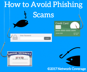 How to Avoid Phishing Scams: identity theft, credit card information, password security