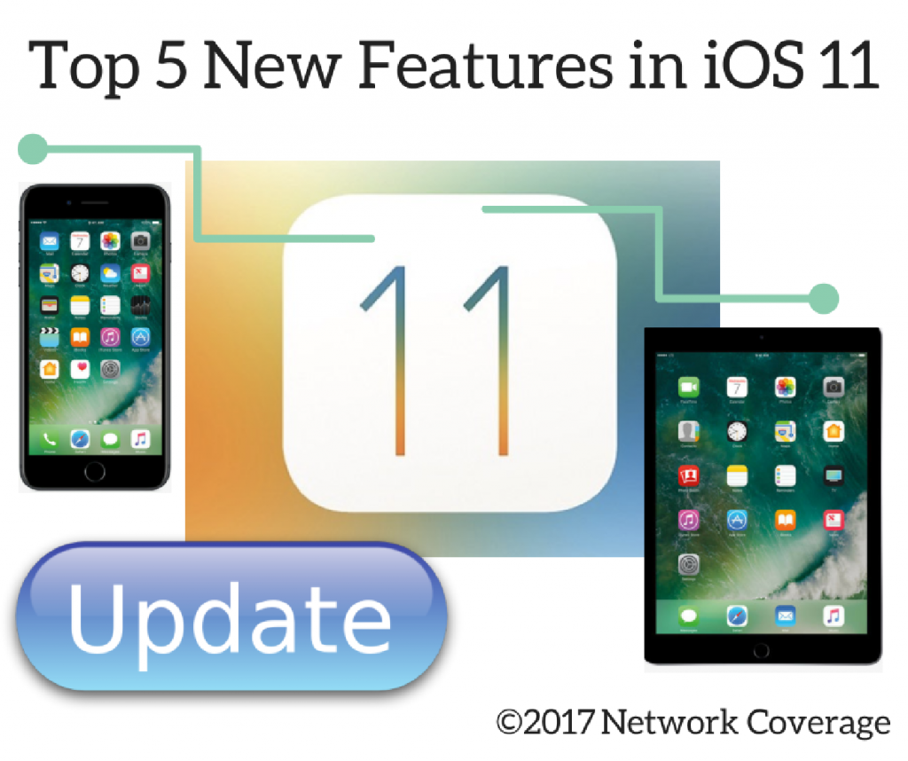 Top 5 Reasons Why You Should Update to Apple iOS 11 - Managed IT