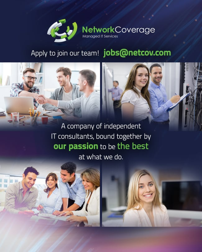 careers at network coverage
