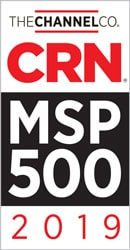 MSP 500 badge