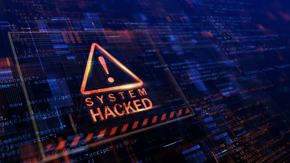 System hacks via Ransomware